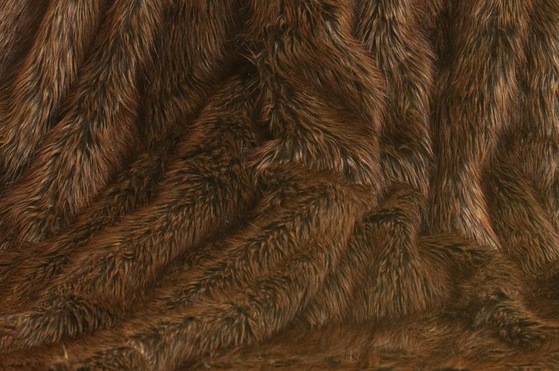 berwurfdecke kodiak braunb r felldecke 150x200cm pelzdecke fellimitat fell ebay. Black Bedroom Furniture Sets. Home Design Ideas