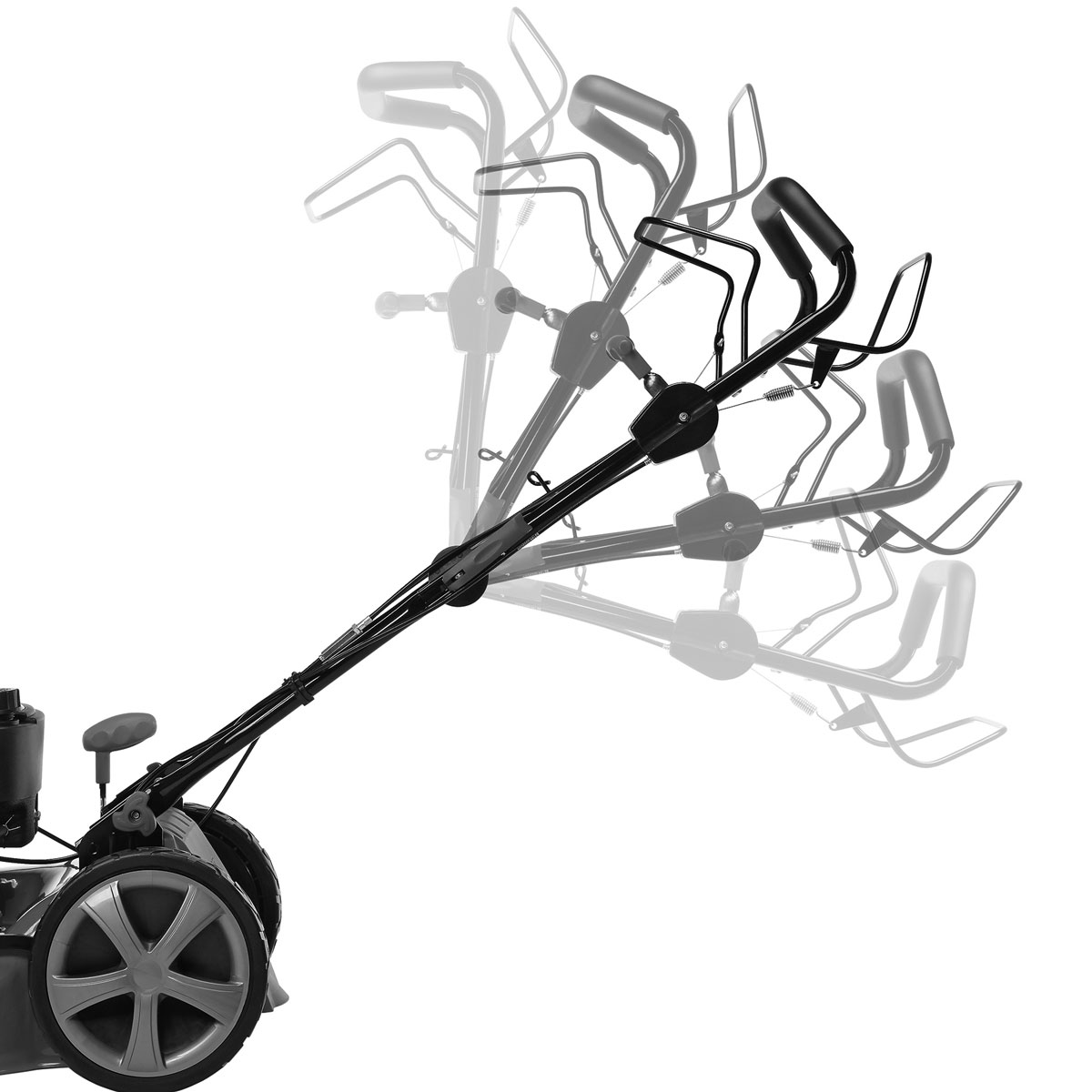 briggs stratton 4 in 1 benzin rasenm her mit selbstantrieb motorm her b s bs. Black Bedroom Furniture Sets. Home Design Ideas