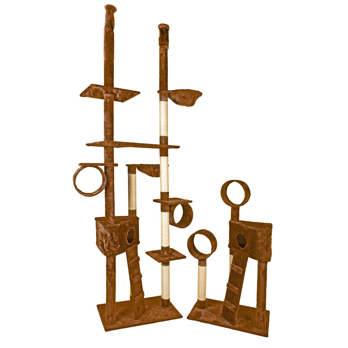 kratzbaum katzenkratzbaum kletterbaum f r katzen h he bis 250cm katzenbaum sisal ebay. Black Bedroom Furniture Sets. Home Design Ideas