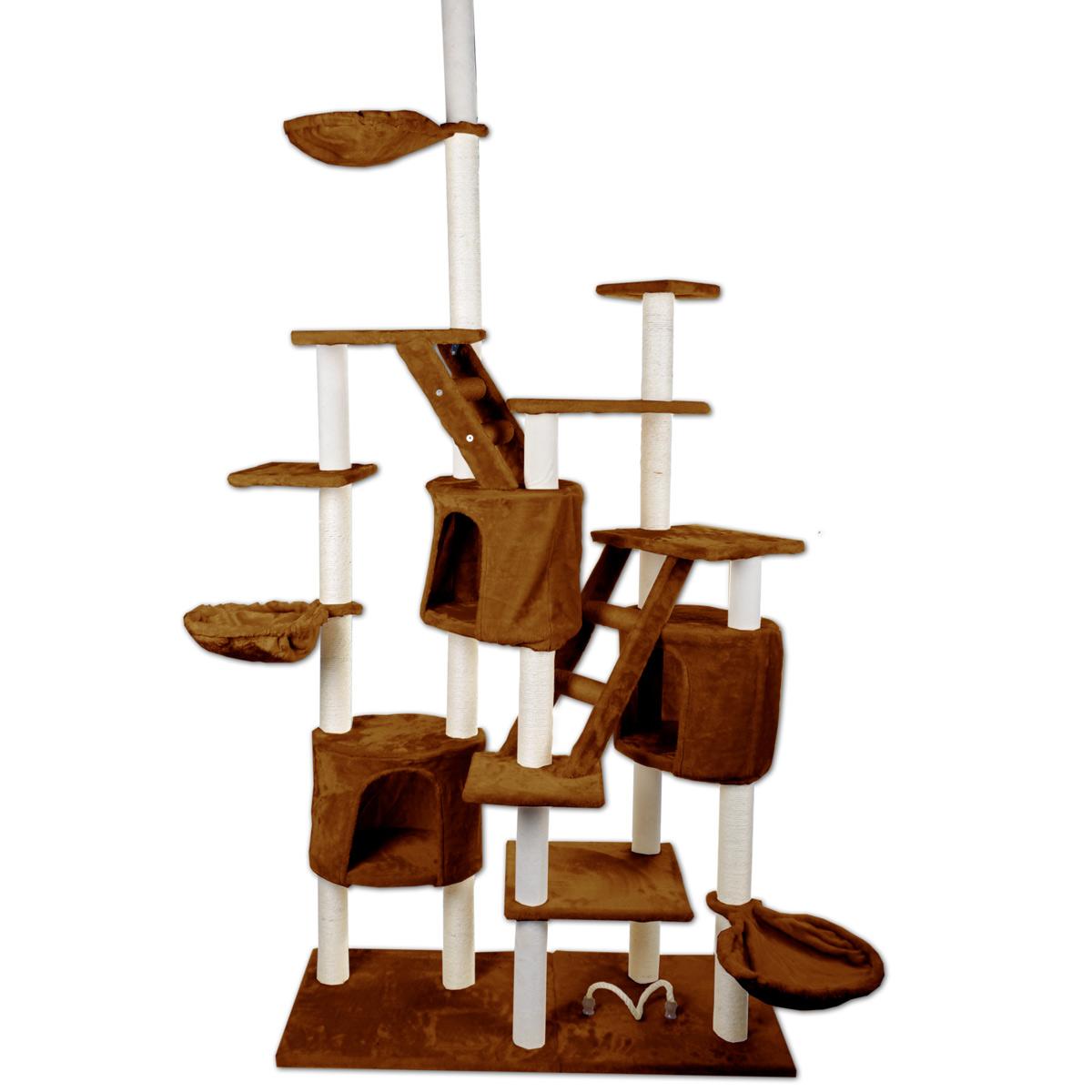 kratzbaum katzenkratzbaum kletterbaum f r katzen katzenbaum sisal spielbaum ebay. Black Bedroom Furniture Sets. Home Design Ideas