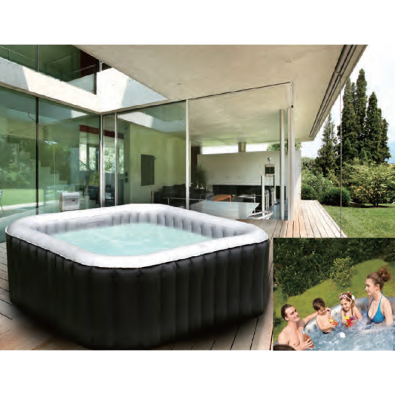 whirlpool in outdoor pool spa wellness heizung massage. Black Bedroom Furniture Sets. Home Design Ideas