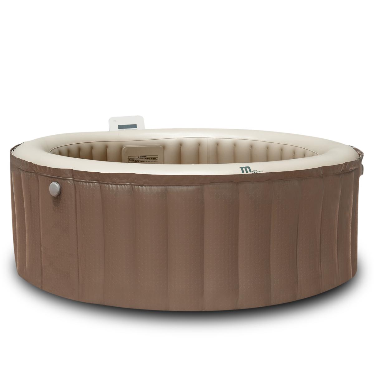 whirlpool mit heizung massage aufblasbar 180x70 f r 4. Black Bedroom Furniture Sets. Home Design Ideas