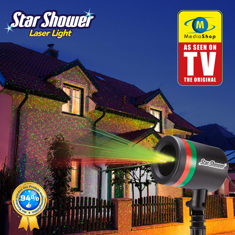 Star shower laser strahler star laserlicht sky shower - Star shower ebay ...