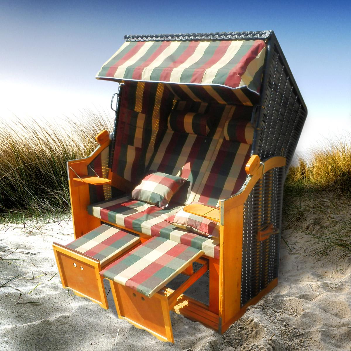 strandkorb premium volllieger ostsee gartenliege. Black Bedroom Furniture Sets. Home Design Ideas