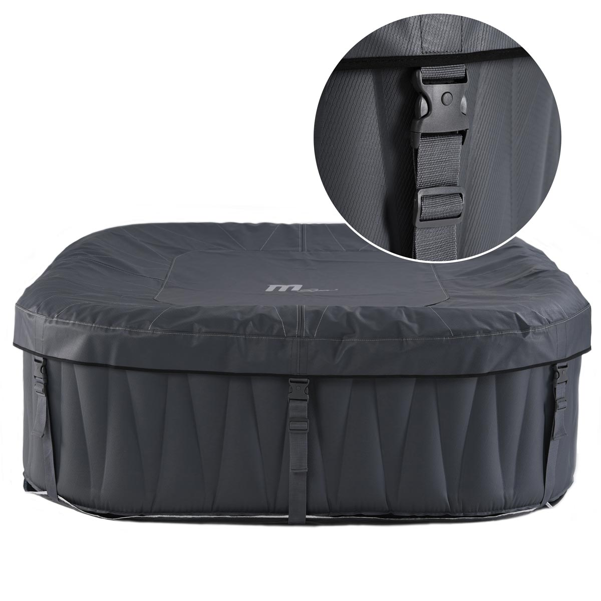 Whirlpool mspa in outdoor pool wellness heizung massage for Sofa vor heizung