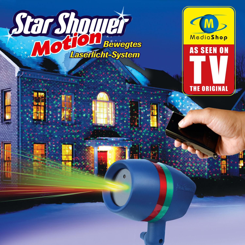 Star shower motion inkl fernbedienung laser strahler - Star shower ebay ...